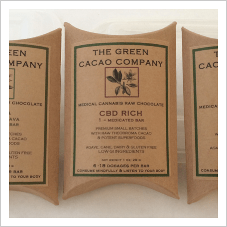 CBD rich edibles, cannabis chocolate