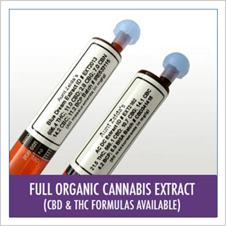 Aunt Zelda's cannabis oil extract
