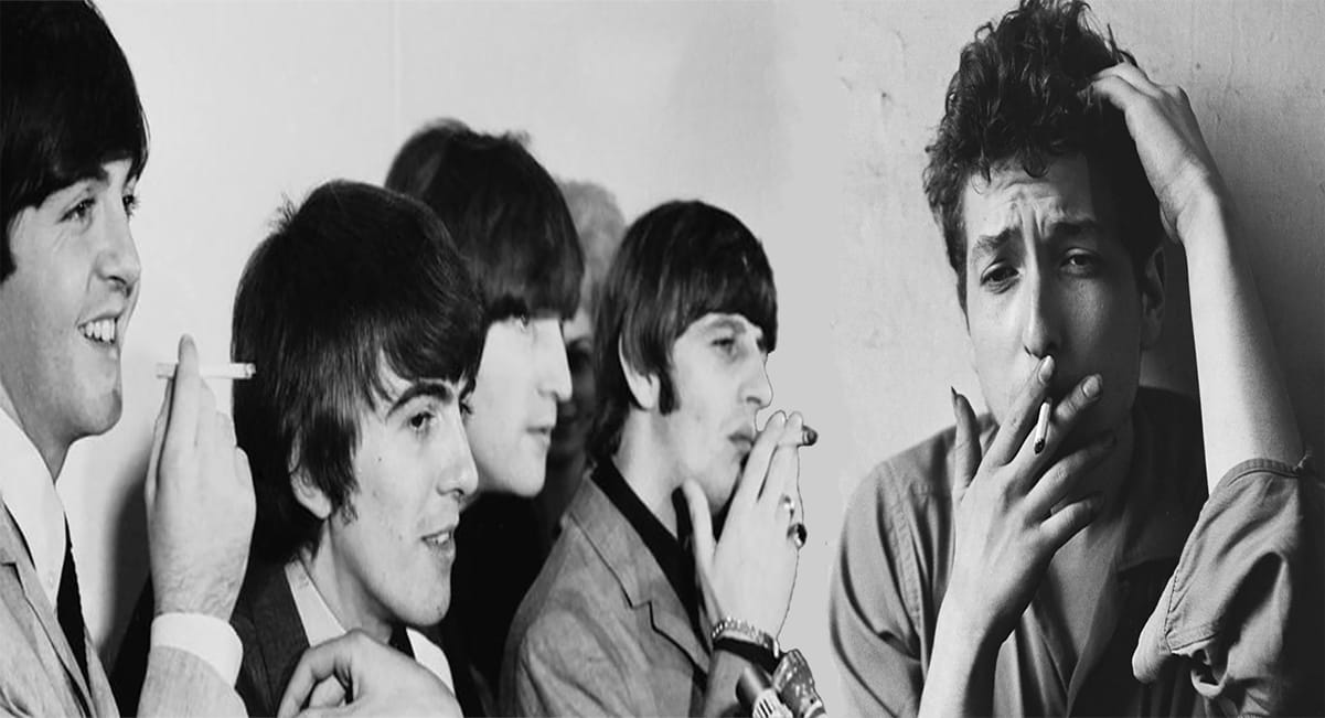 When Bob Dylan Turned The Beatles On To Marijuana
