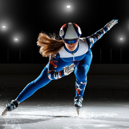 Olympic speed skater