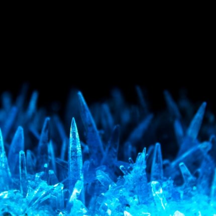 Image of cannabinoid crystals