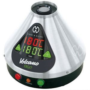 volcano vaporizer boiling points of THC and CBD