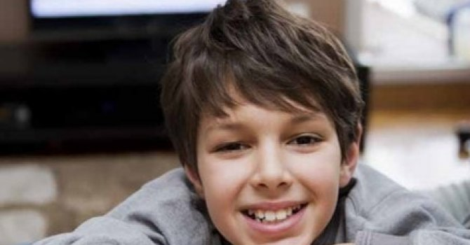 Image of a smiling young boy