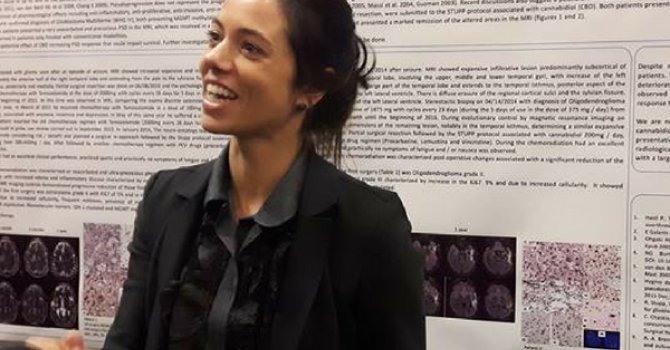 Dr. Paula Dall'Stella at ICRS conference in Montreal, June 2017