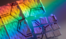 Rainbow blotter of fake led